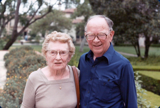 Clyde and Martha Kilby