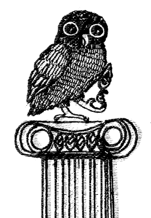 Mythcon 34 owl logo